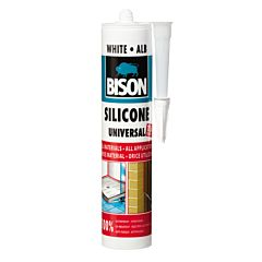 Silicon universal alb 280 ML, Bison