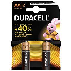Set x 2 baterii AA LR06, Duracell