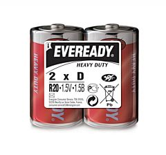 Set x 2 baterii Energizer Eveready HD R20