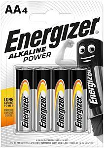 Set 4 baterii Energizer Alcaline Power R6/AA