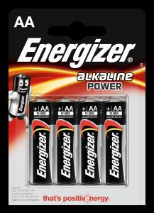 Set x 4 baterii Energizer Alkaline Power E91 LR6