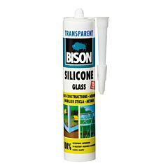 Silicon pentru sticla transparent 280 ML, Bison