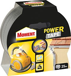 Moment Power Tape 50 mm x 10 m, argintiu