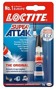 Adeziv Loctite Super Attack lichid 3g