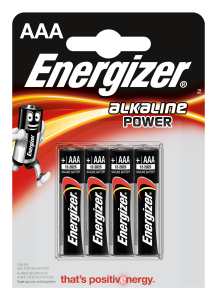 Set x 4 baterii Energizer Alkaline Power E92 LR03