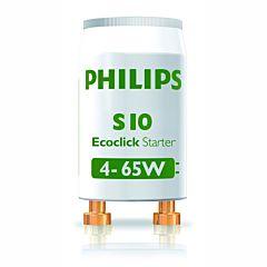 Set 2 bucati startere becuri S10 Philips 4-65 W