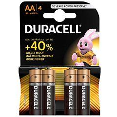 Set x 4 bateri AA LR6, Duracell