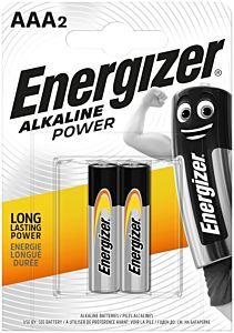 Set 2 baterii Energizer Alcaline Power R03/AAA