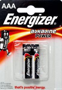 Set x 2 baterii Energizer Alkaline Power E92 LR03