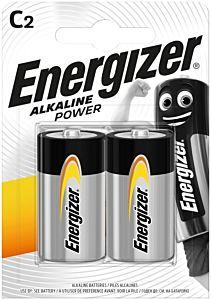 Set 2 baterii Energizer Alcaline Power R14/C