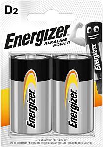 Set 2 baterii Energizer Alcaline Power R20/D