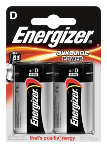 Set x 2 baterii Energizer Alkaline E95 LR20