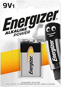 Baterie Energizer Alcaline Power 9V