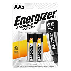 Set 2 baterii Energizer Alcaline Power R6/AA