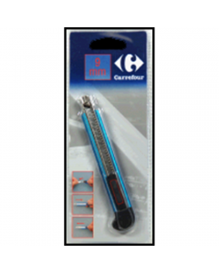 Cutter aluminiu 9 mm, Carrefour