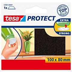 Protectii Antizgarieturi 100X80 mm, maro, Tesa