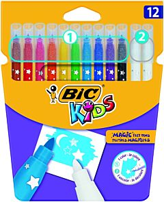 BIC Kids Magic Felt Pens 12 buc