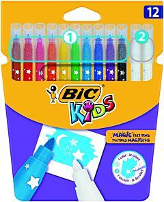 BIC Kids Magic Felt Pens 12 buc