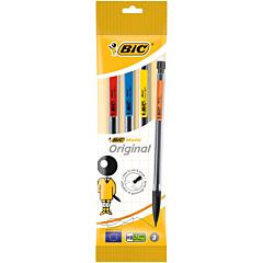Creion mecanic BIC Matic Classic 0.7 mm, set 3 bucati