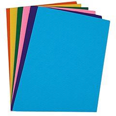 Carton ondulat A4, 10 culori/set, diferite culori