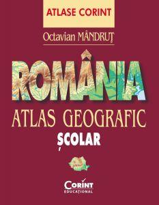 Atlas geografic Romania nou 2013