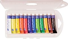Tempera Morocolor 7.5 ml, 12 bucati/set