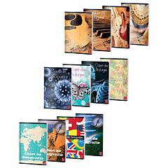 Set caiete Biologie-Geografie-Muzica, Pigna Clasic