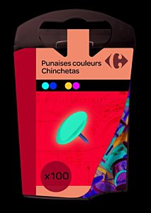 Pioneze color Carrefour