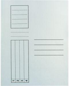 Dosar Standard alb plic A4 carton 10 buc