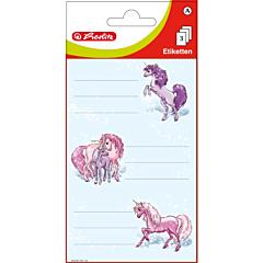 Set 9 etichete scolare zane