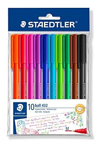 Set pixuri unica folosinta Staedtler, 10 culori/set