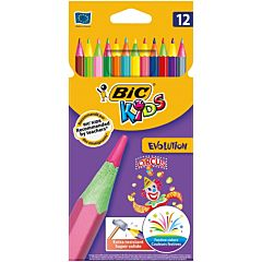 Creioane colorate BIC Kids Evolution Circus 12 buc
