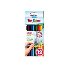 Creioane Colorate 12bucati/Set, Toy Color