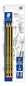 Creion Noris cu guma 3/blister