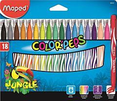 Carioca Maped color'peps 18/set jungle