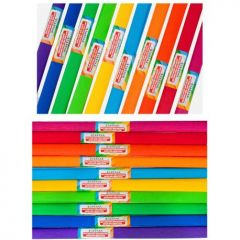 Hartie ceponata 50 x 200, Spectrum, diverse culori