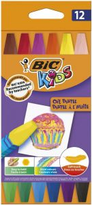 BIC Kids Oil Pastel 12 buc