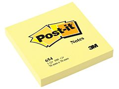 Set notite post-it 3M, 76 x 76 mm, 100 file, Galben