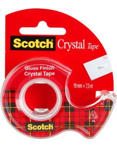 Banda Scotch transparenta 19 mm x 7.5 m, 3M