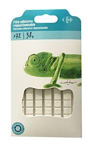 Pastile adezive Carrefour, 72 buc