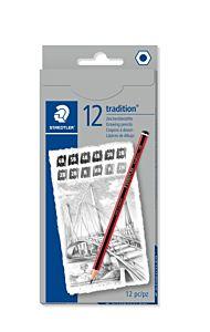 Set creioane grafit Staedtler H-6B, 12 buc,