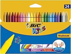 Creioane cerate P.Wallet 24 buc Bic