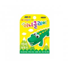 Plastilina Amos, set x4, Crocodil 30 g