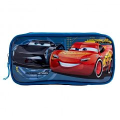 Penar cu inchidere fermoar Cars, 1 compartiment, material textil, Multicolor