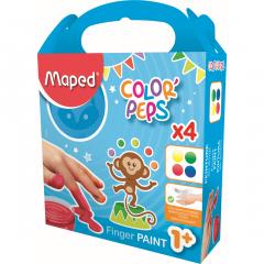 Set pictura cu degetele, 4 culori