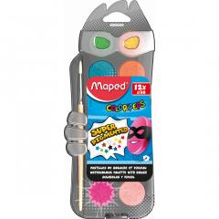 Acuarele Maped 12 culori + pensula
