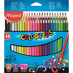 Creioane Color'Peps Maped 48 culori
