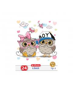 Caiet tip 2 A5 24 file Cute Animals Premium