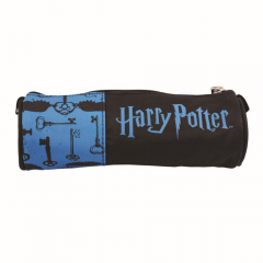 Penar etui tubular Harry Potter, albastru
