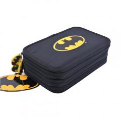 Penar 3 fermoare, Batman, negru simplu